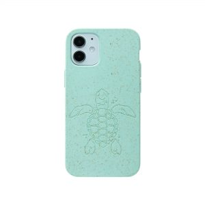 Ocean Turquoise (Turtle Edition) Eco-Friendly iPhone 12 Mini Case